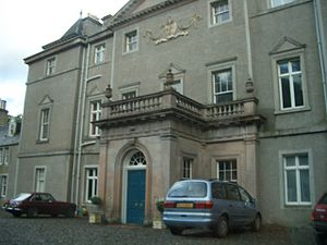 Monarch of the Glen (TV series) - Balavil House which was used as Kilwillie Castle