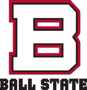 2010 Ball State Cardinals football team - Image: Ball State old wordmark
