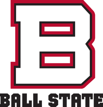 2005 Ball State Cardinals football team - Image: Ball State old wordmark