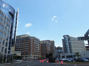 Ballston, Arlington, Virginia - Western edge of Ballston