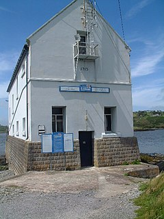 Baltimore Lifeboat Station lifeboat station on the South coast of Ireland