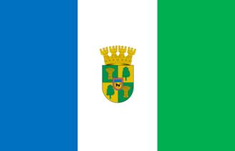 Cabrero, Chile - Image: Bandera de Cabrero (Chile)