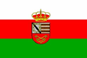 Casas de Don Pedro - Image: Bandera de Casas