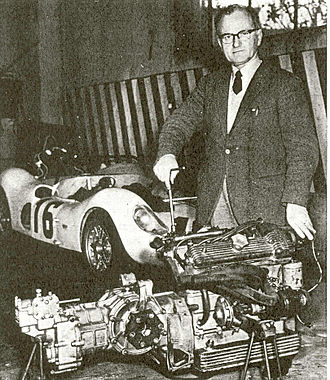 Bandini 1000 - The group motor-gear-differential 1000/66.