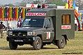 Bangladesh Army Toyota LC 70 ambulance (23847276094).jpg