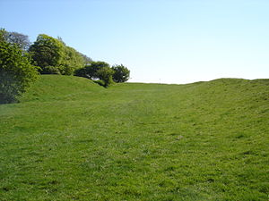 "Hill of Tara - Area known as ""Banqueting Hall"""