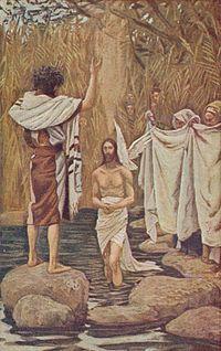 Jeesus kasteella, 1916 James Tissot.
