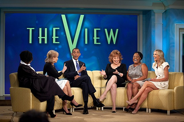 Goldberg, Walters, Behar, Shepherd, and Hasselbeck interview Barack Obama, President of the United States, on July 29, 2010.