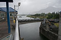 Barge Approaching Navigation Locks, Bonneville Dam-1.jpg