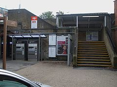 Barnes station northern entrance.JPG