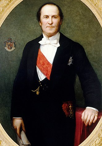 Georges-Eugène Haussmann - Portrait of Baron Haussmann, by Henri Lehmann (1860, Musée Carnavalet)