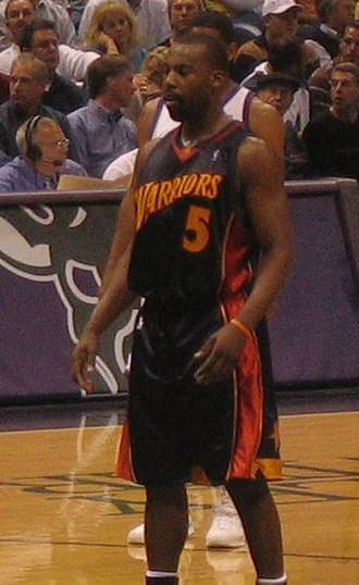 Baron Davis - Davis with the Warriors in 2005