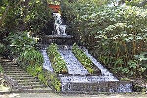 Barranca del Cupatitzio National Park - Uriata fountain alongside the ravine of the Cupatitzio River