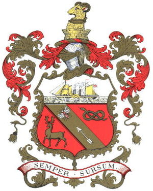 Coat of arms of Barrow-in-Furness - Image: Barrow in Furness Town Arms