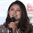 Barsha Raut at a promotional event.jpg