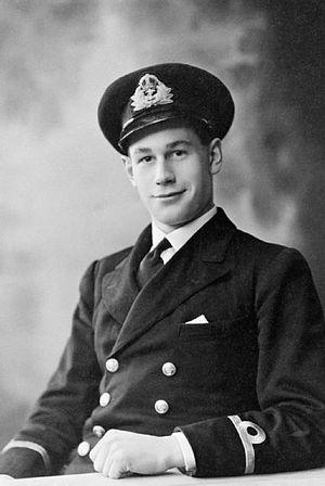 Godfrey Place - Sub-Lieutenant Godfrey Place c.1941