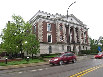 National Register of Historic Places listings in Calhoun County, Michigan - Image: Battle Creek City Hall