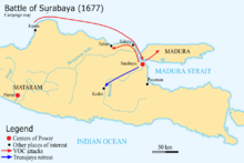 Battle of Surabaya 1677 campaign map.png