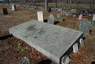 Thomas Baylies - Final resting place of Thomas Baylies and his family, Dighton, Massachusetts