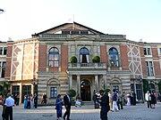 Bayreuth Festspielhaus front