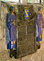 Bazentin (chapelle du cimetière) céramique de Maurice Dhomme 03.jpg