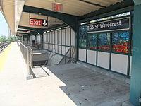 Beach 25th Street - Platform.JPG