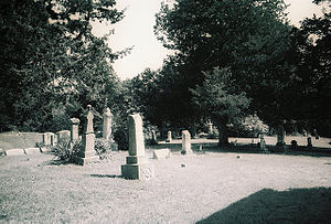 Bear Creek Baptist Church - Cemetery adjacent to Bear Creek Baptist Church.