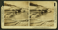 Beautiful variegated colorings, limpid pools and delicate terraces on the great Mound Terrace, Mammoth Hot Spring,Yellowstone Park, by H.C. White Co..png