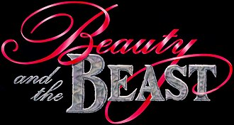 Beauty and the Beast (franchise) - The logo as seen in the title card of the 1991 original film. This logo is one of several logos used for this franchise.