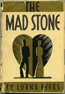Photo of cover of Lorna Beers' novel The Mad Stone.