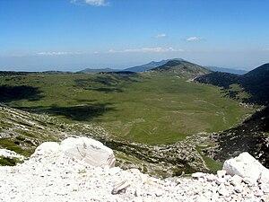 Begovo Pole - View of Begovo Pole, from Solunska Glava peak