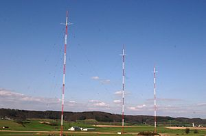 RTL (French radio) - The Beidweiler (Luxembourg) Longwave Transmitter is the high-power broadcasting transmitter for RTL on the longwave frequency 234 kHz