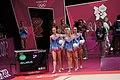 Belarus Rhythmic gymnastics team 2012 Summer Olympics 01.jpg