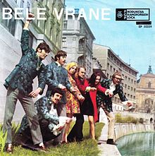 Cover of the 1968 Presenečenja album of Bele vrane