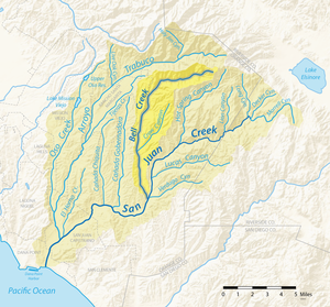 Bell Canyon - Image: Bell Canyon map 01