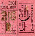 Bell Punch bus tickets, Cottrell's Coaches, Mitcheldean Glos. - Flickr - sludgegulper.jpg