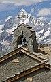 Bell tower of a chapel in Gornergrat, Wallis, Switzerland, 2012 August.jpg