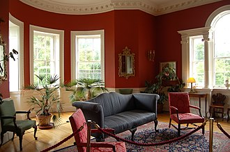 Belvedere House and Gardens - The drawing room in the Belvedere House