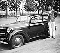 Bem rakpart a Szilágyi Dezső tér környékén. Opel Kadett személygépkocsi. Fortepan 8592.jpg