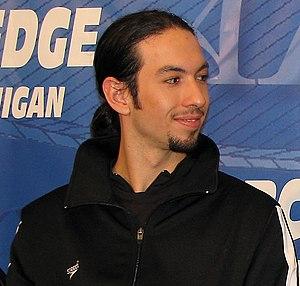 Benjamin Agosto - Agosto at a press conference