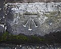 Bench Mark, Belfast - geograph.org.uk - 1735665.jpg