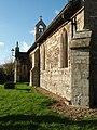 Bench Mark Barham Church - geograph.org.uk - 1063650.jpg