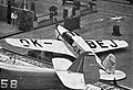 Beneš-Mráz Be-555 Super Bibi na aerosalonu v Paříži (1938).jpg