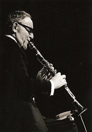 English: Benny Goodman in concert 1971