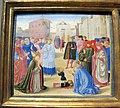 Benozzo gozzoli, predella con scene delle vite di santi, 1460-70 ca., 02 zanobi.JPG