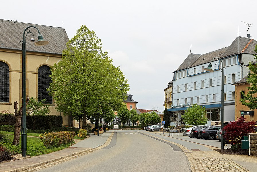 Berdorf (Grand Duchy of Luxembourg): centre of the village