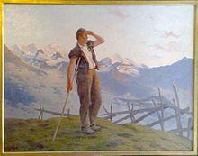 奥古斯特·巴德·博维瑞士画家Auguste Baud-Bovy (Swiss, 1848–1899) - 文铮 - 柳州文铮