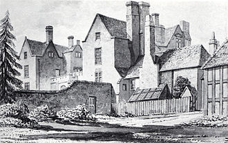 Berkhamsted Place - Berkhamsted Place in 1832, painted by J.C. Buckler