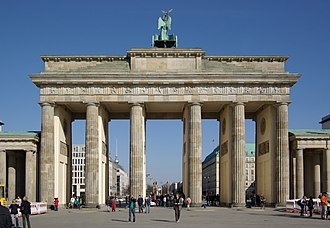Carl Gotthard Langhans - The Brandenburg Gate