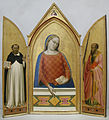 Bernardo daddi, vergine maria tra i santi tommaso d'aquino e paolo, 1330 ca.JPG